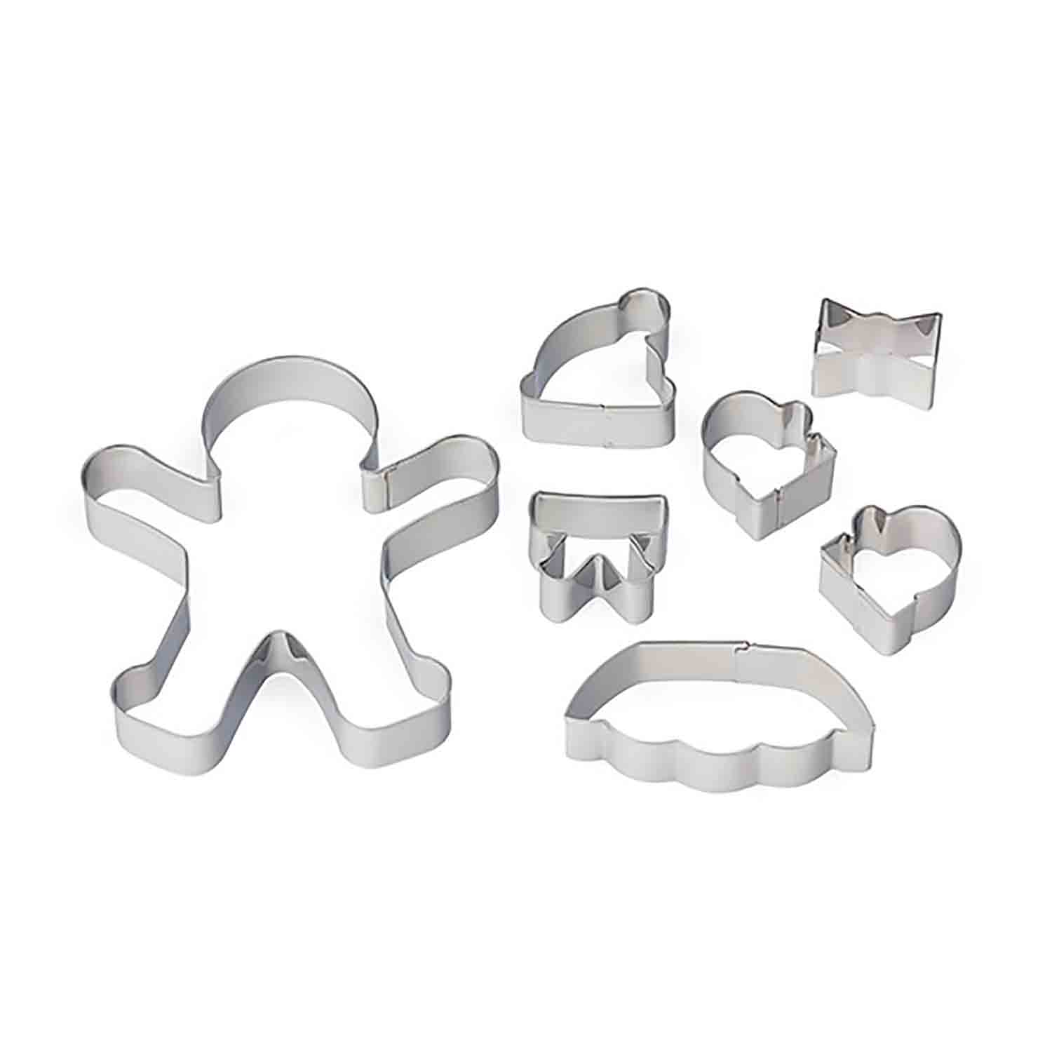 Build Your Own Gingerbread Cookie Cutter Set