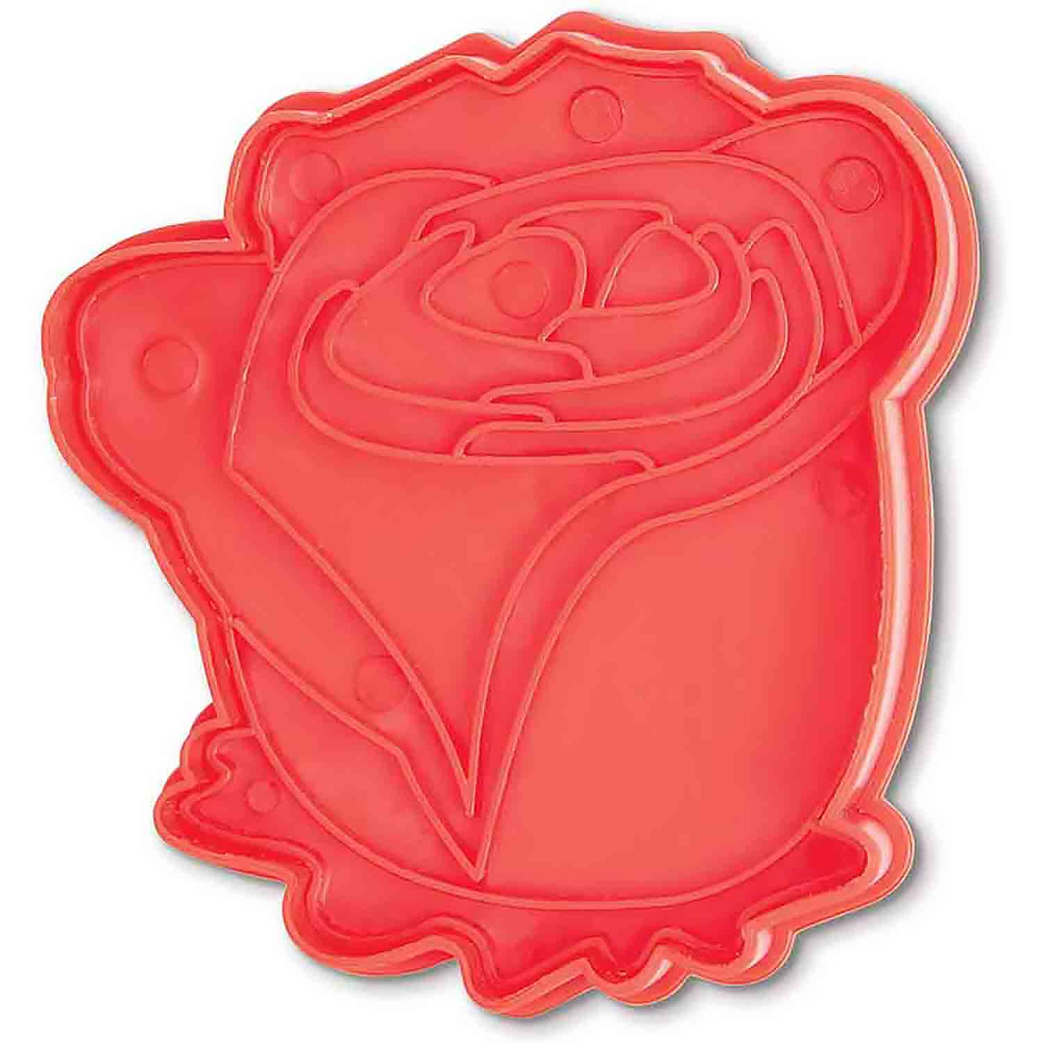 Rose Cookie Cutter Stamp