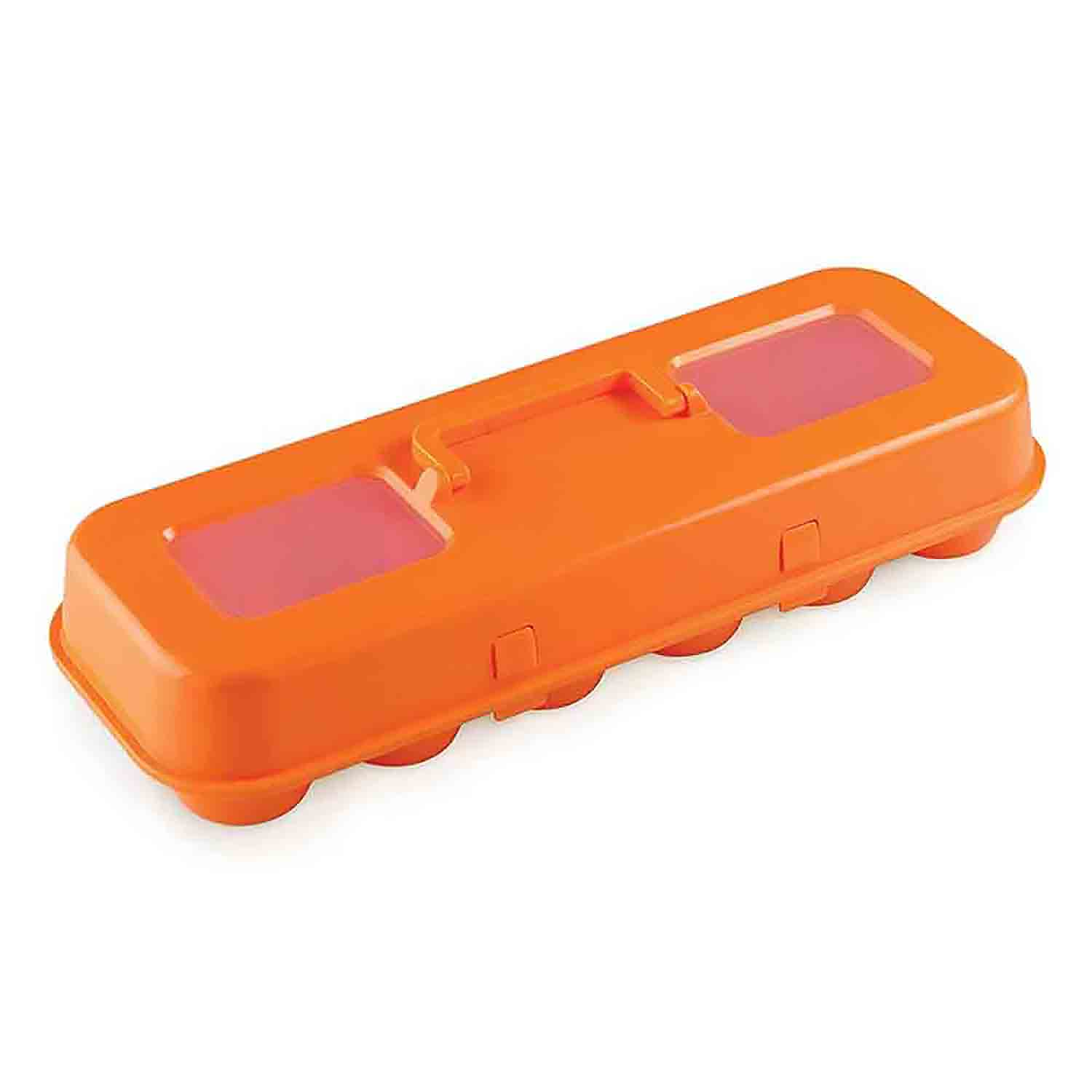 Orange Cupcake Egg Carton Carrier