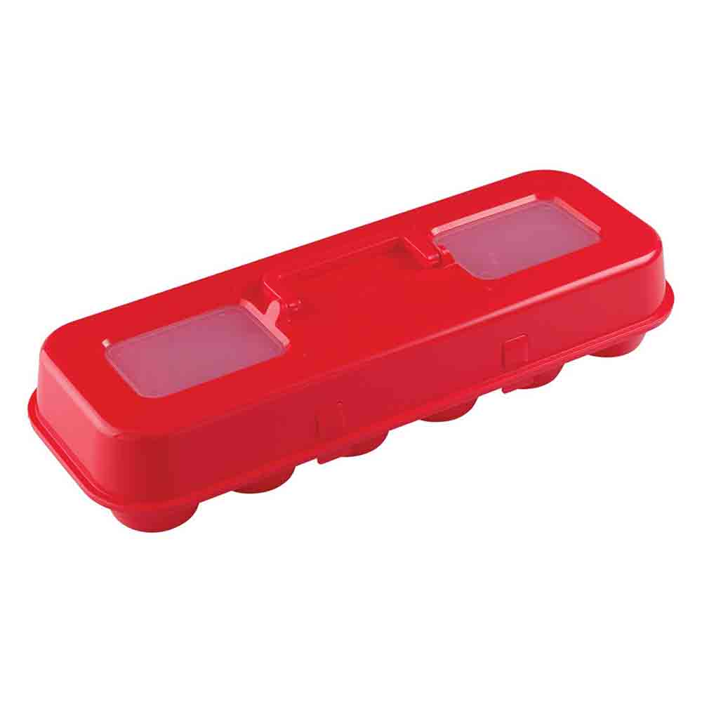Red Cupcake Egg Carton Carrier