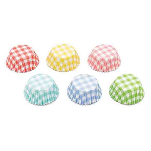 Gingham Assortment Standard Baking Cups
