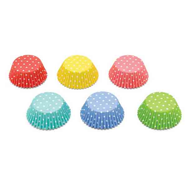Polka Dot Assortment Standard Baking Cups