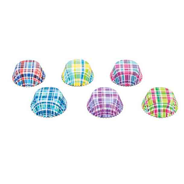 Madras Assortment Standard Baking Cups