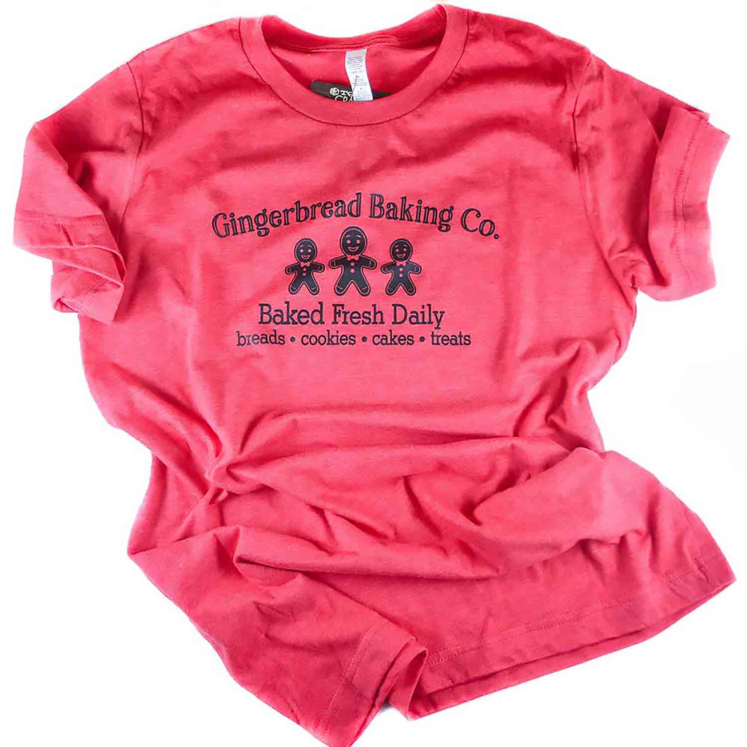 Red Gingerbread Baking Co. T-Shirt - Extra Large
