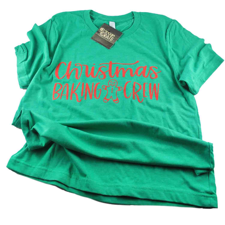 Christmas Baking Crew T-Shirt - Extra Large