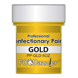 FOODazzler Gold Confectionary Paint