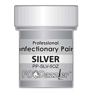 FOODazzler Silver Confectionary Paint