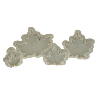 Maple Leaf Plunger Cutter Set