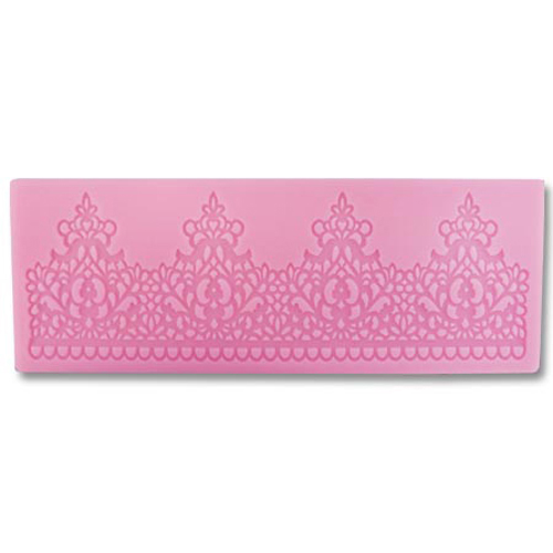 Crown Lace Silicone Mat
