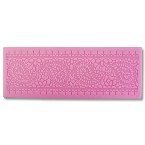 Paisley Lace Silicone Mat