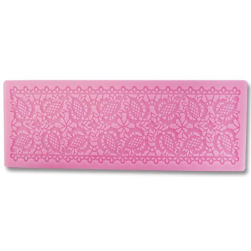 Pineapple Lace Silicone Mat