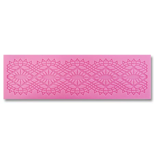 Diamonds Lace Silicone Mat