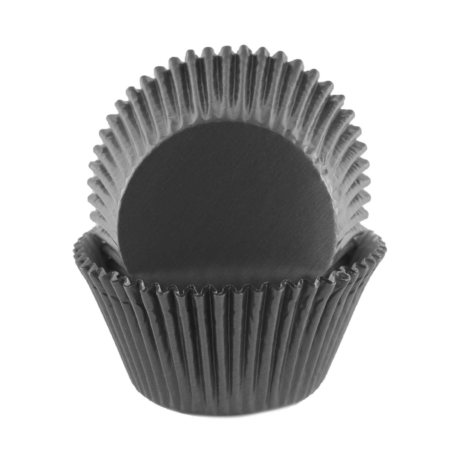 Black Foil Jumbo Baking Cups