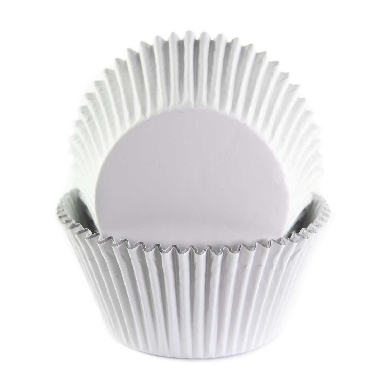 White Foil Jumbo Baking Cups