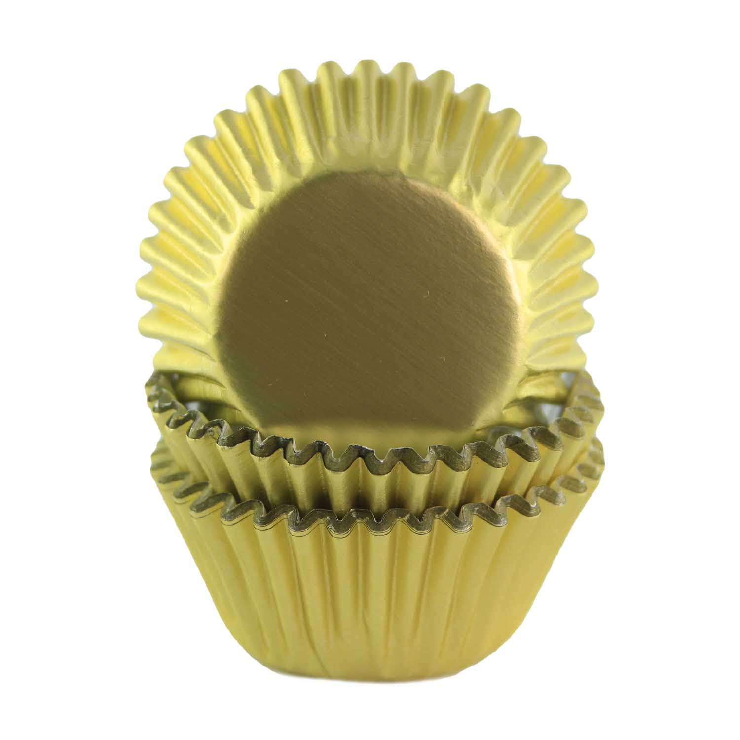 Gold Foil Mini Baking Cups