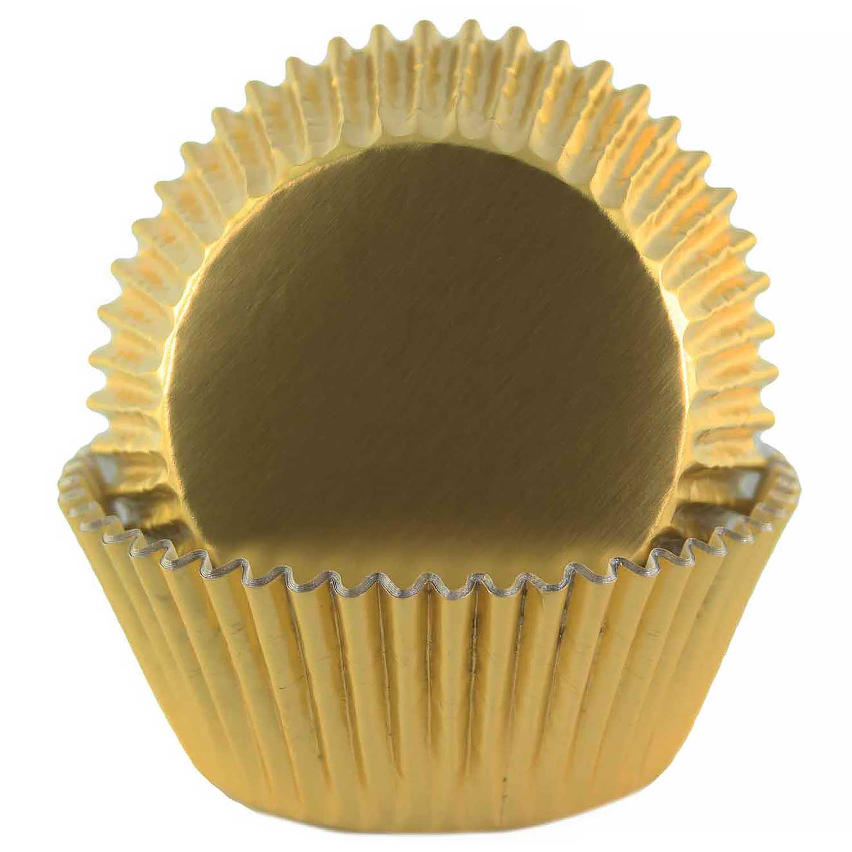 Gold Foil Standard Baking Cups