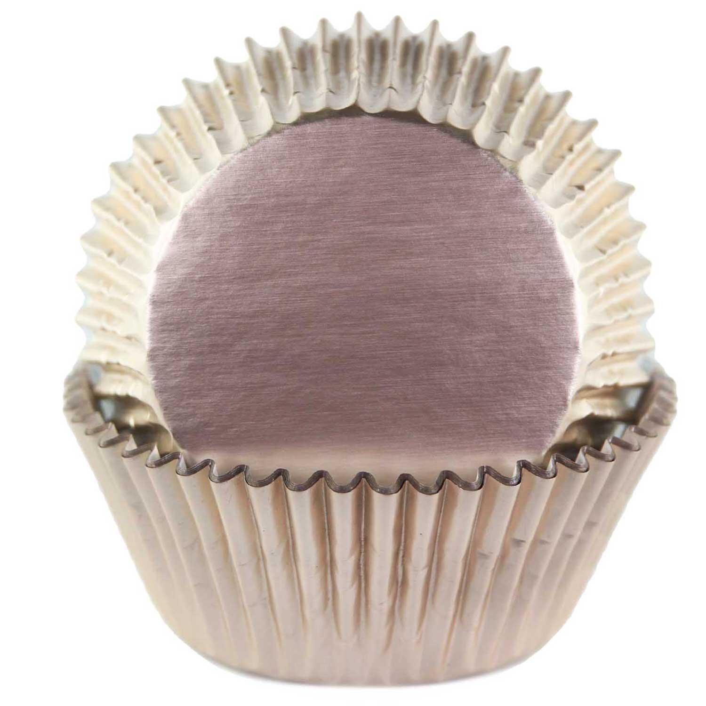Ivory Foil Standard Baking Cups