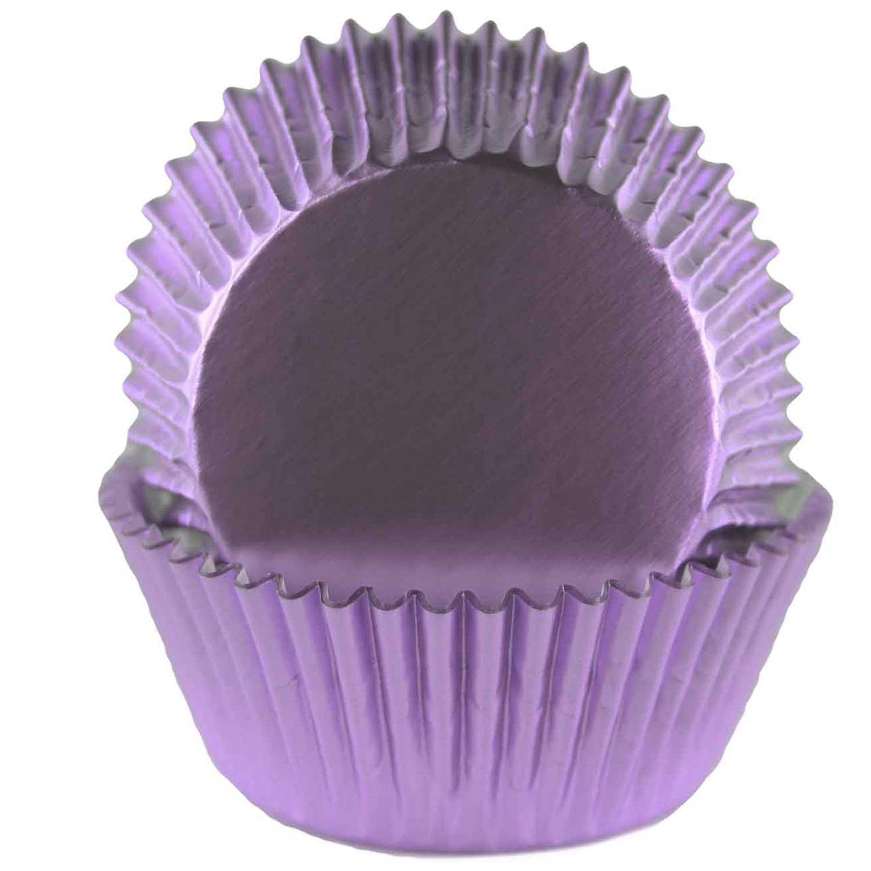Light Purple Foil Standard Baking Cups