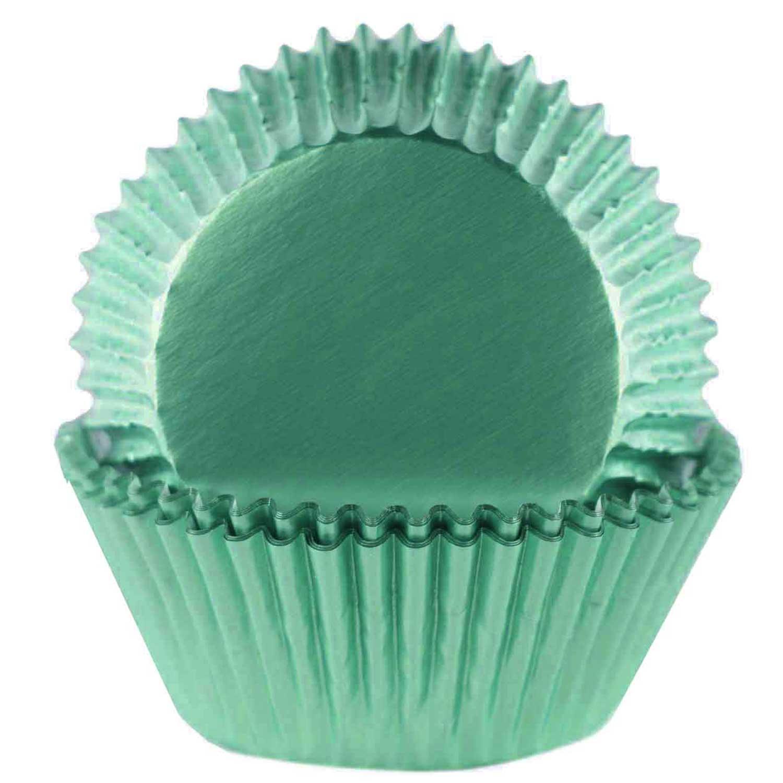 Mint Foil Standard Baking Cups
