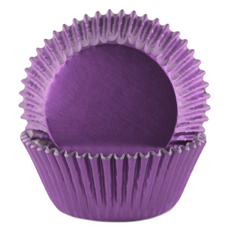 Purple Foil Standard Baking Cups