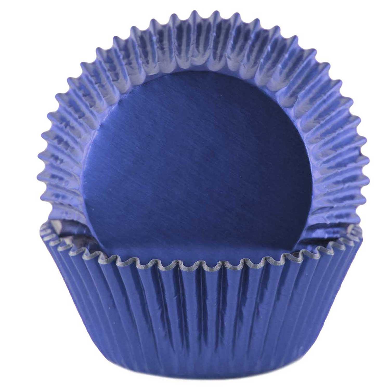 Royal Blue Foil Standard Baking Cups
