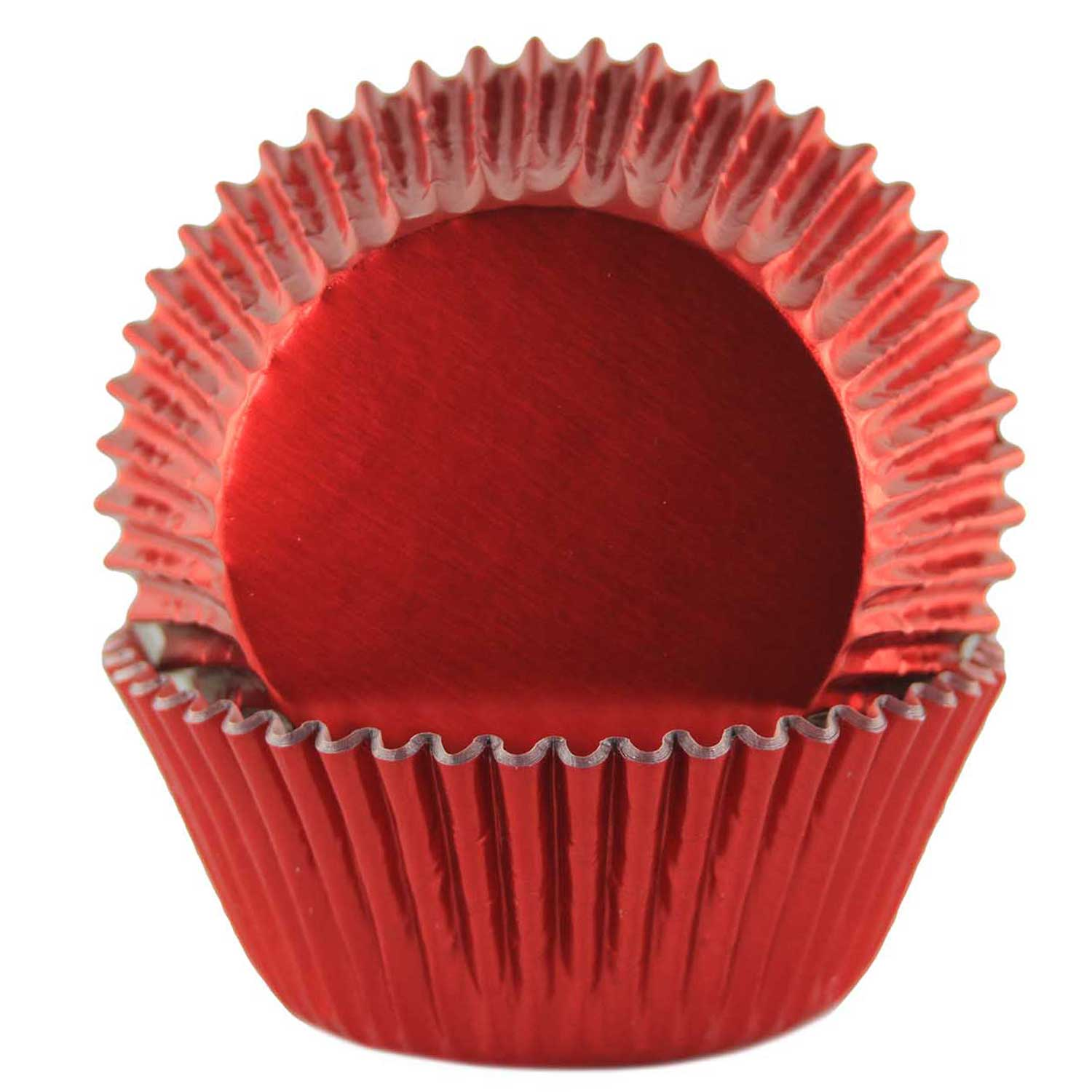 Red Foil Standard Baking Cups