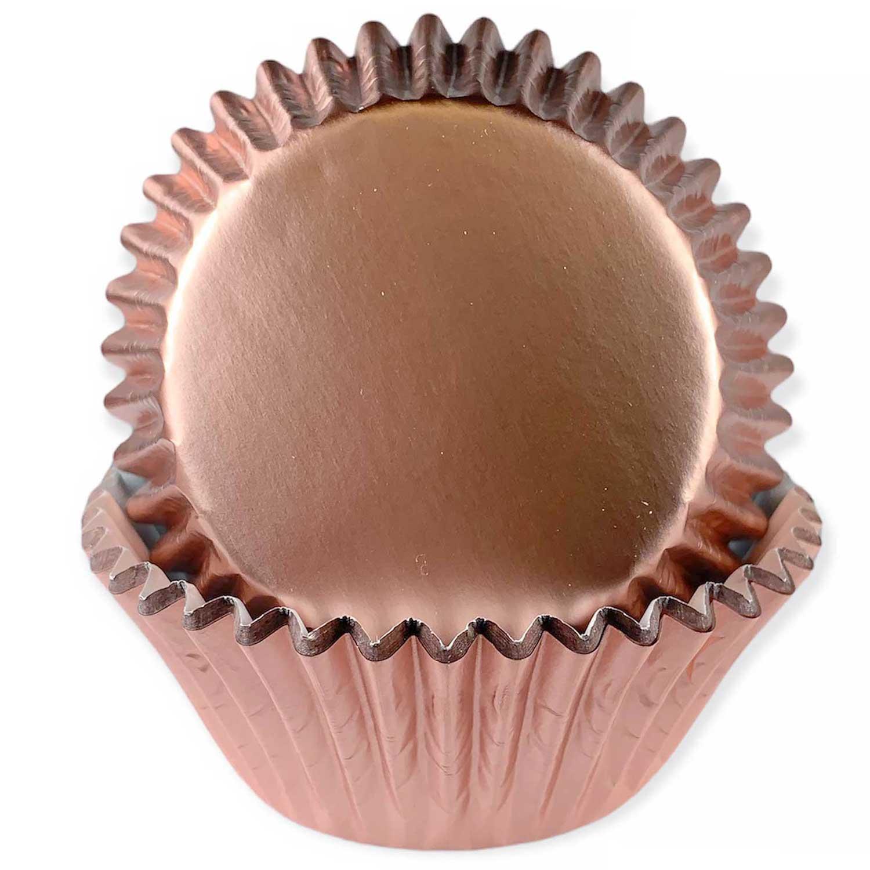 Rose Gold Foil Standard Baking Cups