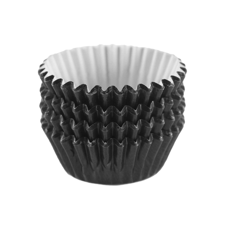 Black Foil Treat Cups
