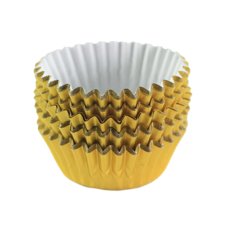 Gold Foil Treat Cups