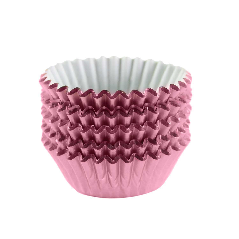 Light Pink Foil Treat Cups