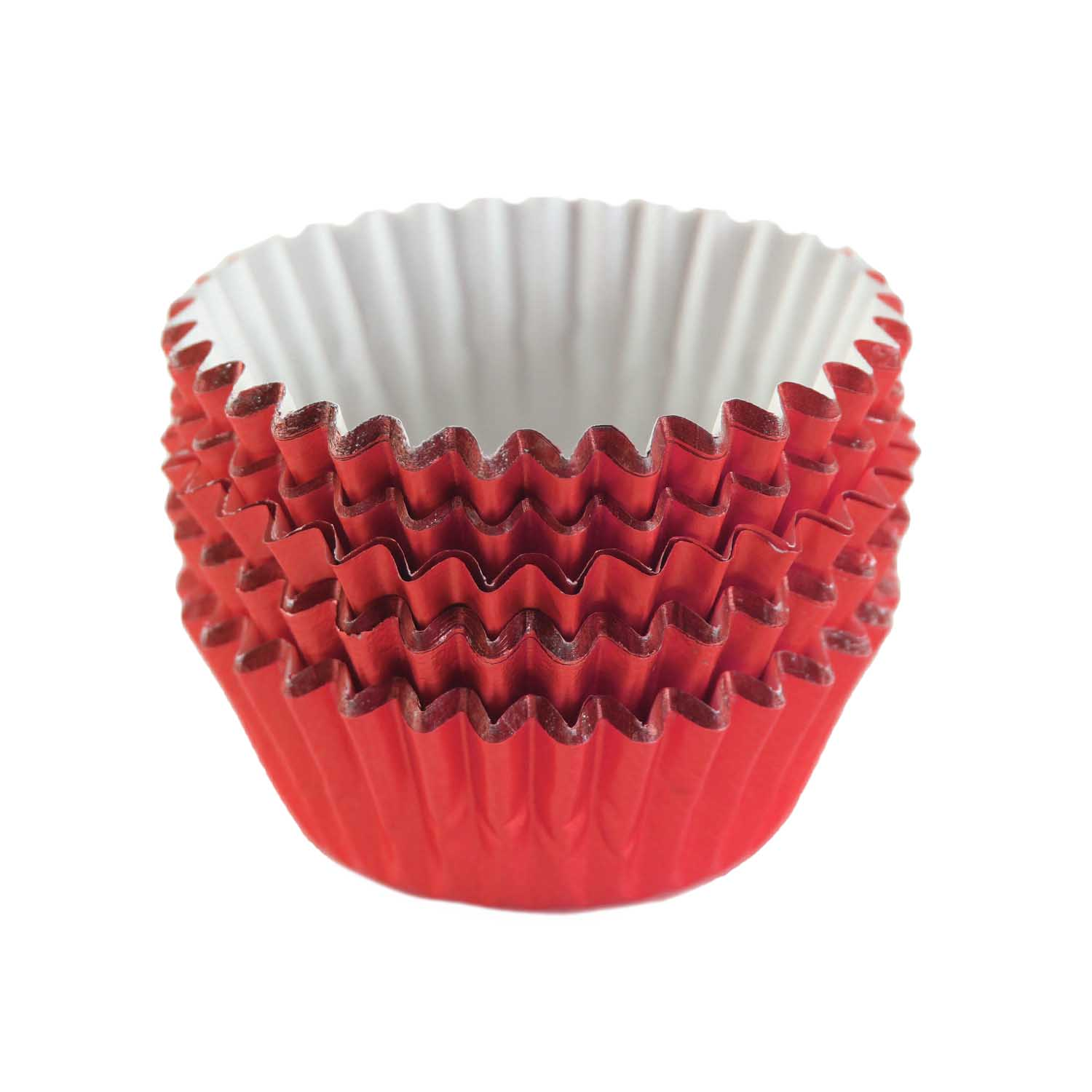 Red Foil Treat Cups