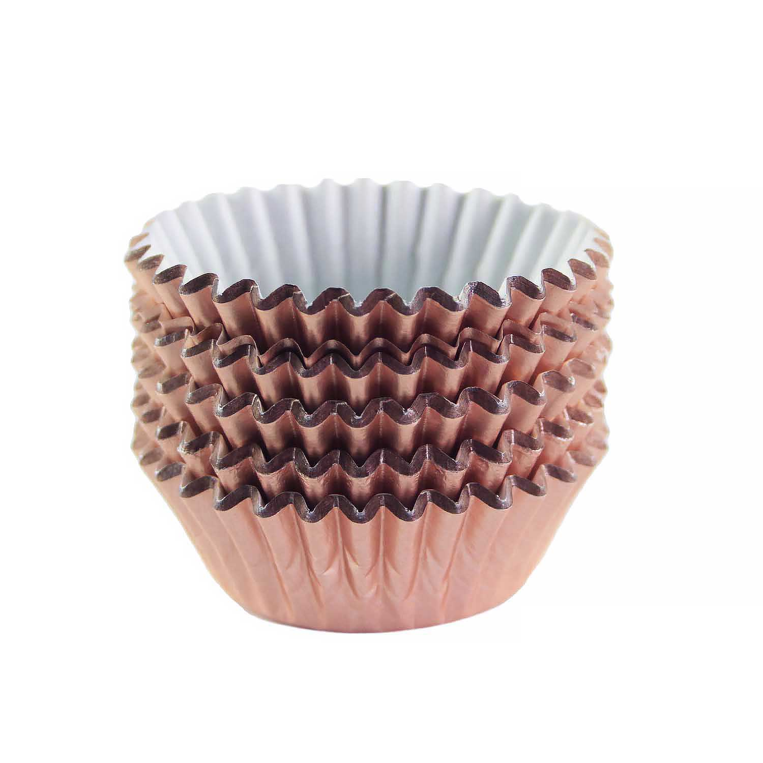 Rose Gold Foil Treat Cups