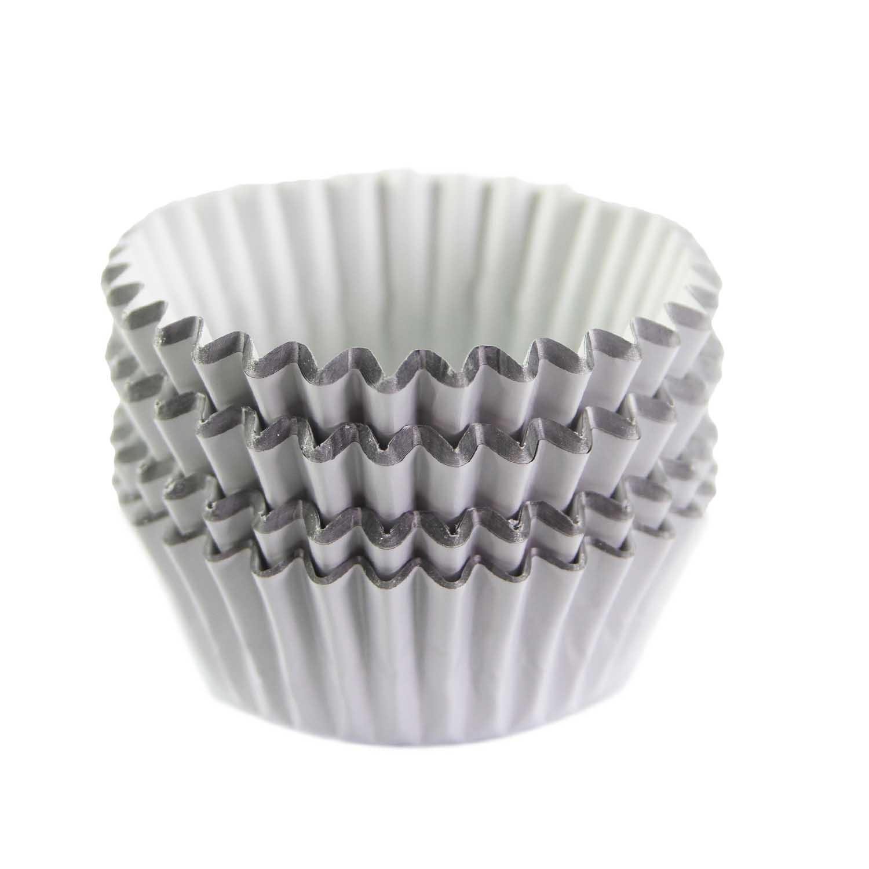 White Foil Treat Cups