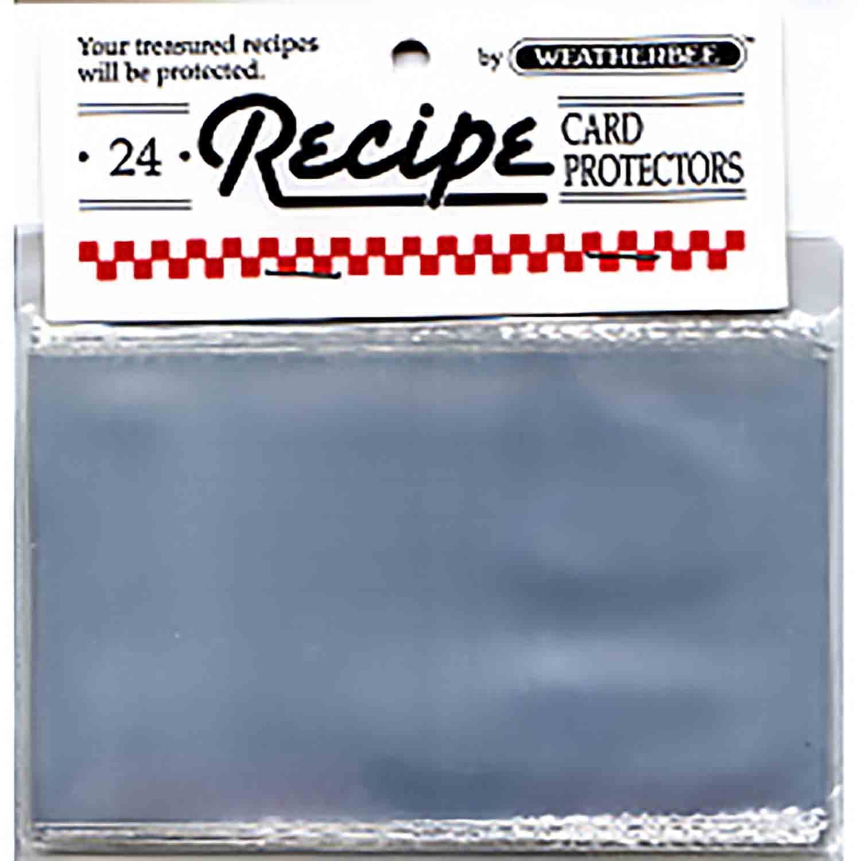"Recipe Card Protector-3 x 5"""