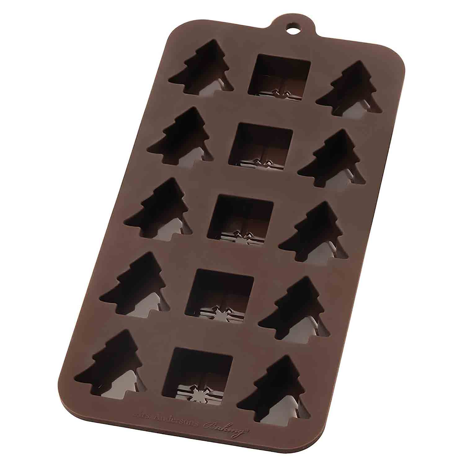 Holiday Silicone Chocolate Mold