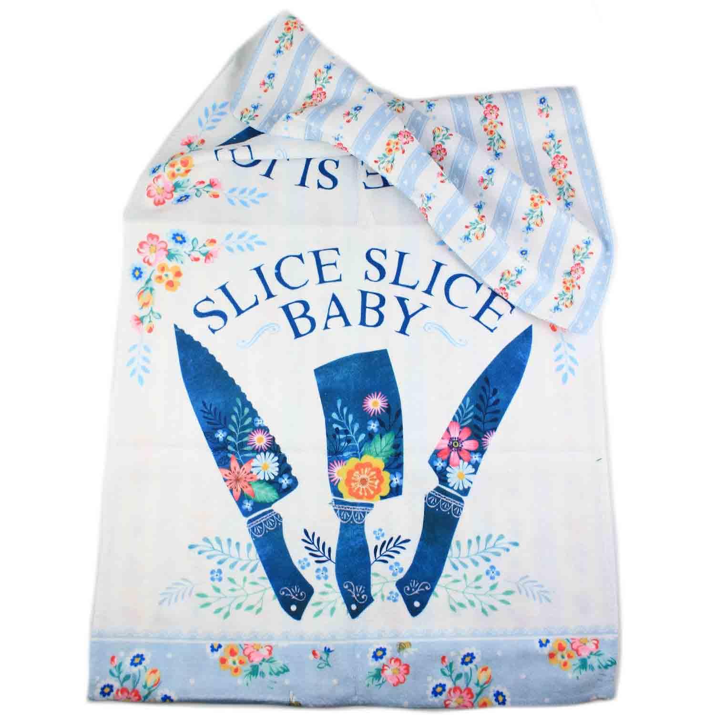 Slice Slice Baby Tea Towel