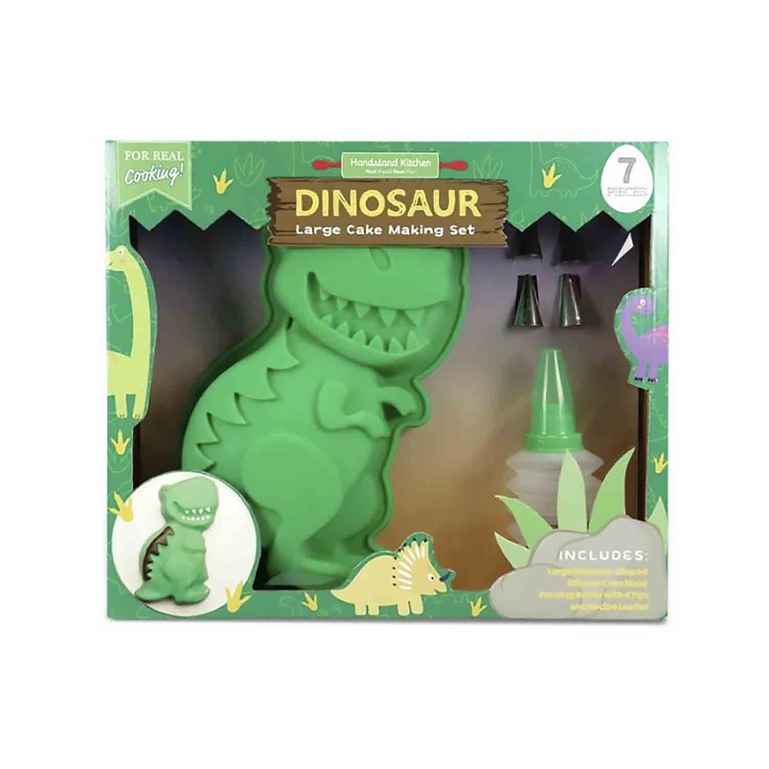 Dinosaur Cake Baking Set