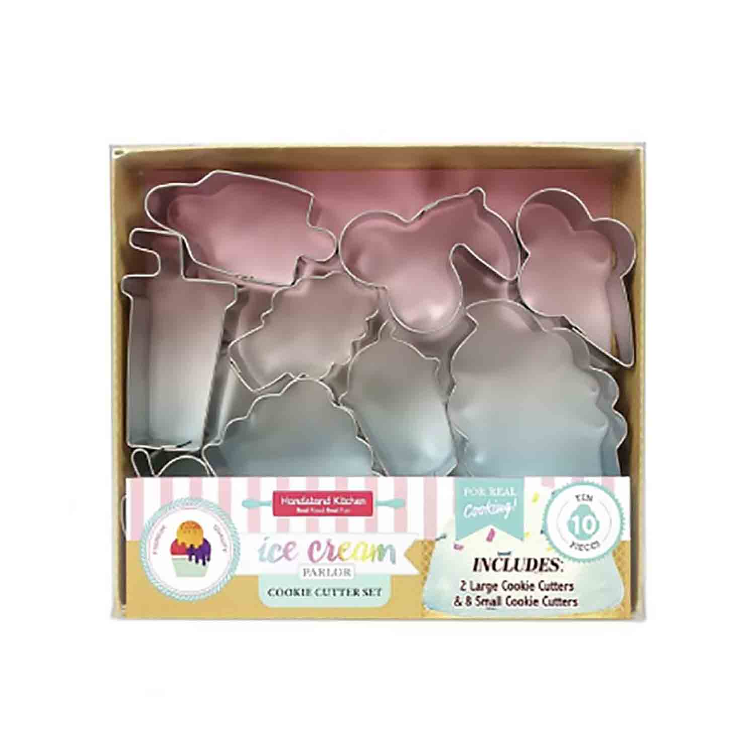 Ice Cream Parlor Cookie Cutter Set