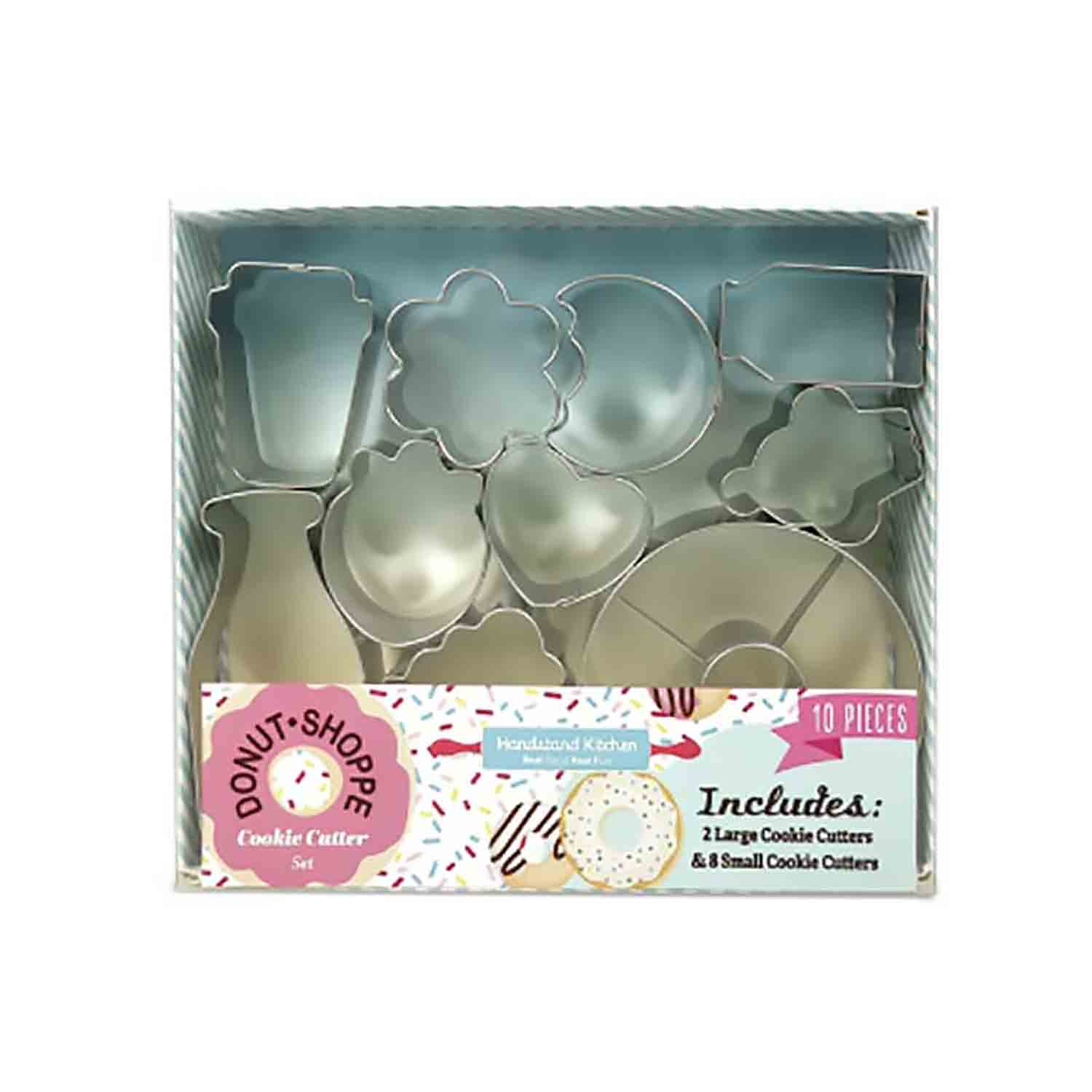 Donut Shoppe Cookie Cutter Set
