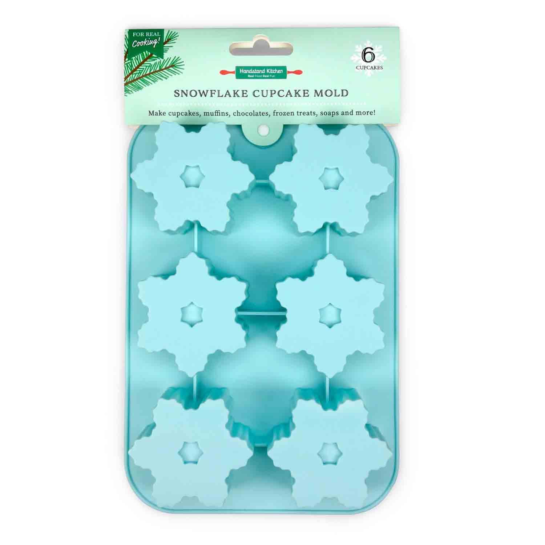 Snowflake Cupcake Mold