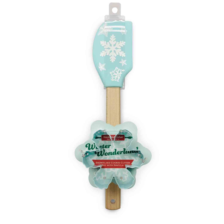Snowflake Spatula & Cutter Set