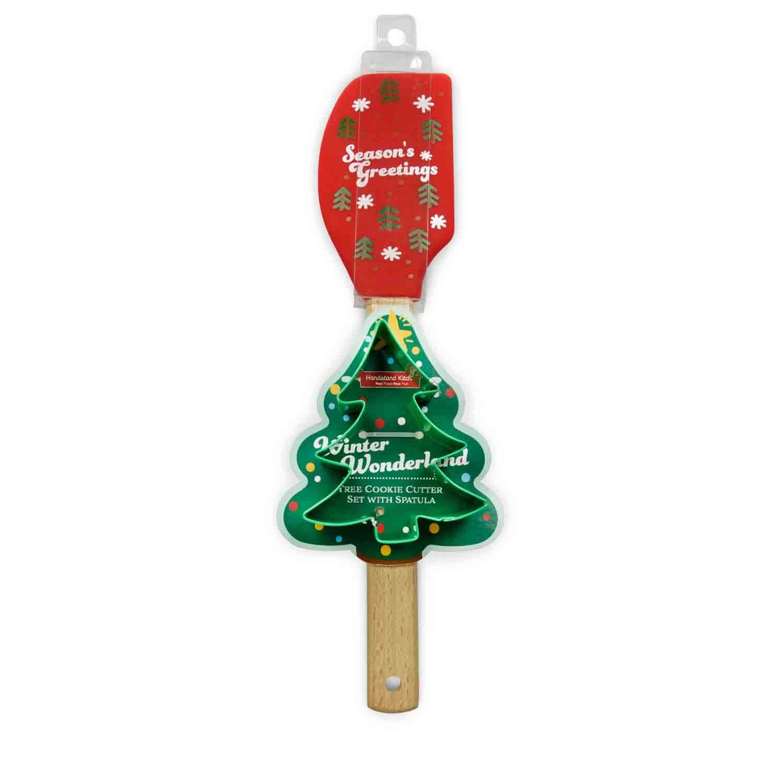 Christmas Tree Spatula & Cutter Set