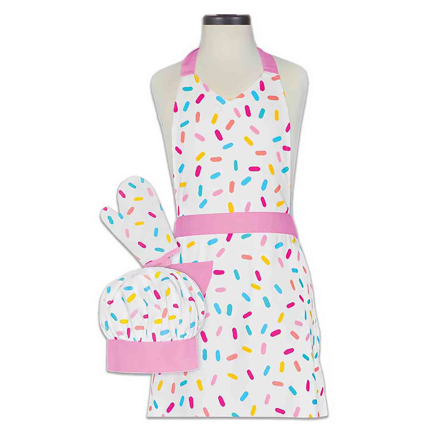 Sprinkles Kid's Apron Set