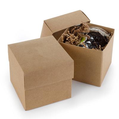 Kraft Cupcake Favor Box