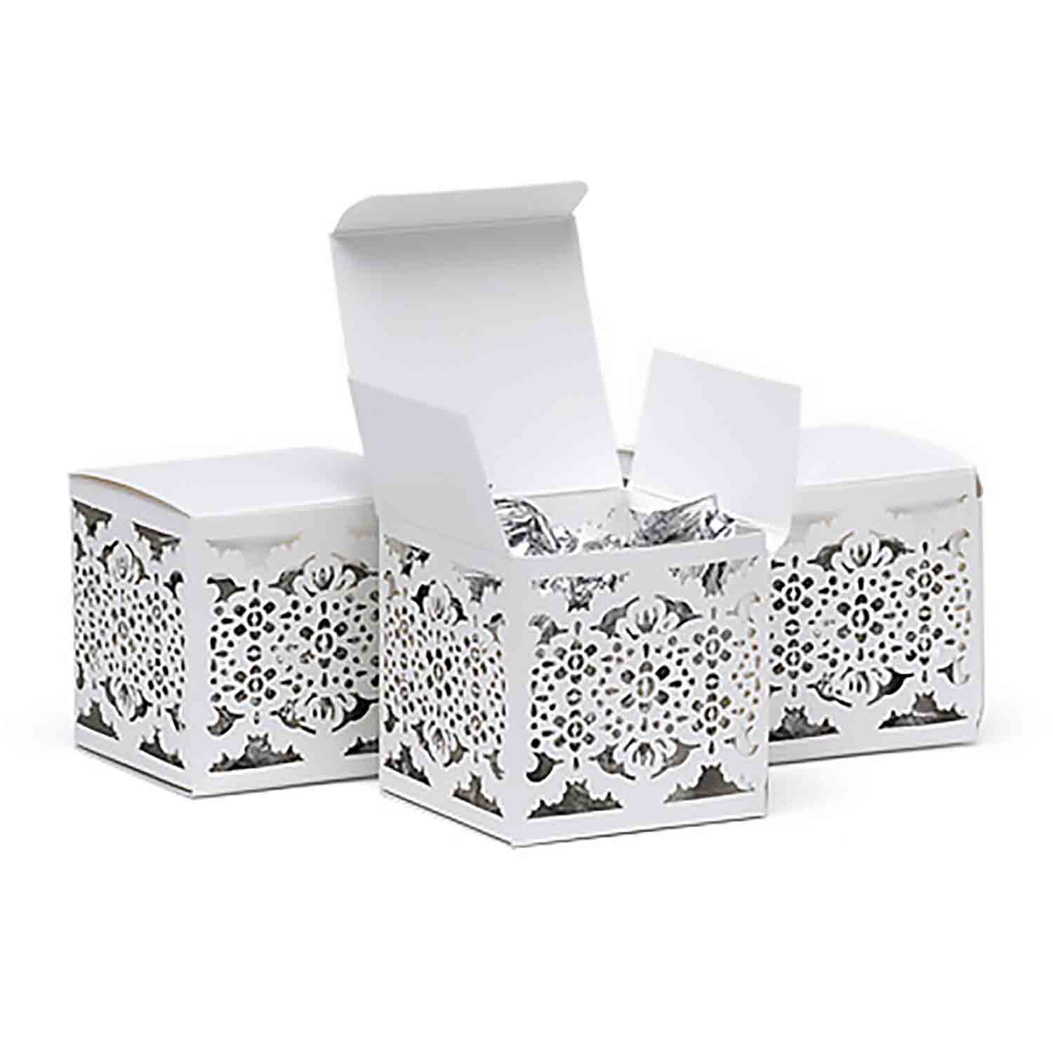 Lace Laser Cut Favor Box