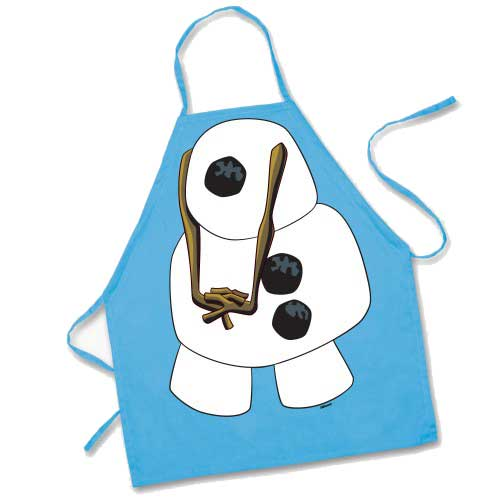 Kids' Olaf Character Apron