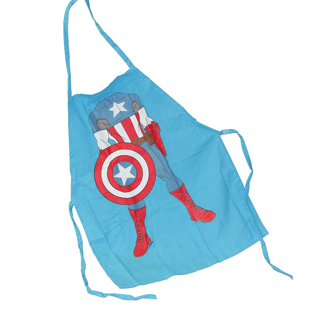 Kids' Captain America Character Apron