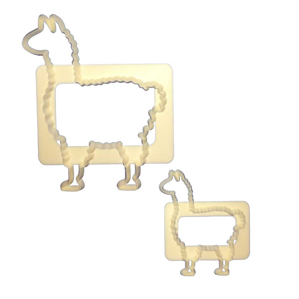 FMM Mummy and Baby Llamas Cutter Set