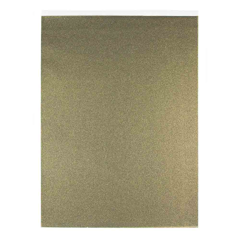 Metallic Antique Gold Luster Icing Sheet