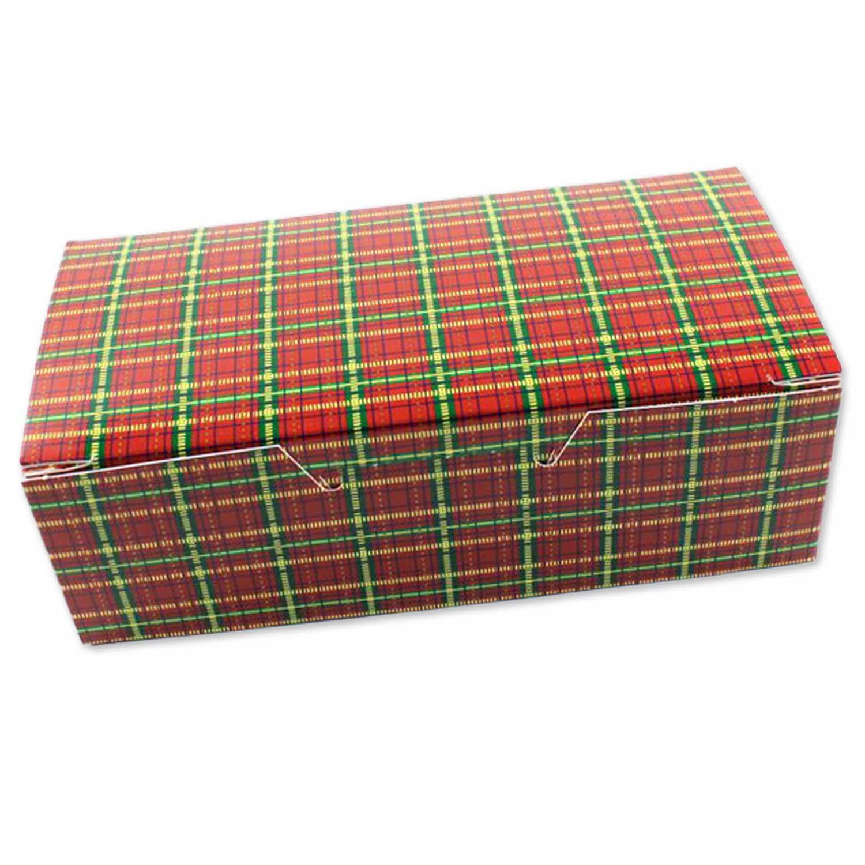 1 lb. Plaid Candy Box